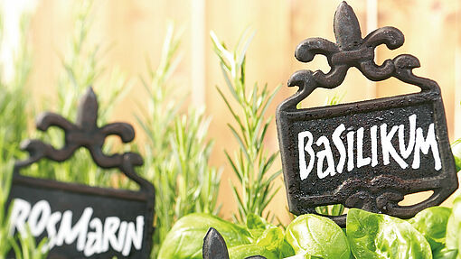 Make your own plant markers