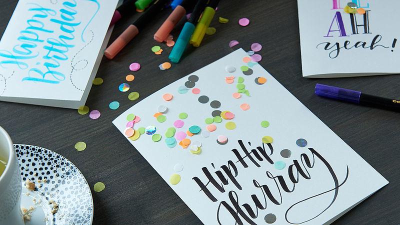 Birthday Card Decoration
