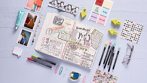 Creative bullet journal