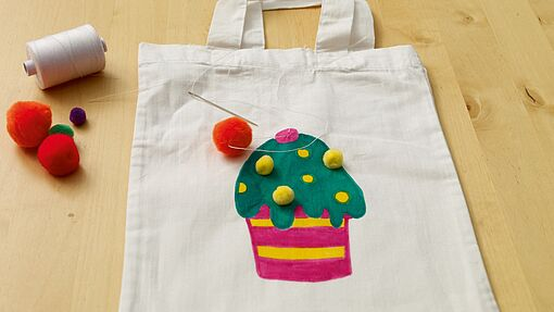 DIY textile bag for kids