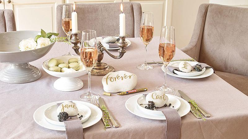 Kreative Tischkarten Für Die Hochzeit