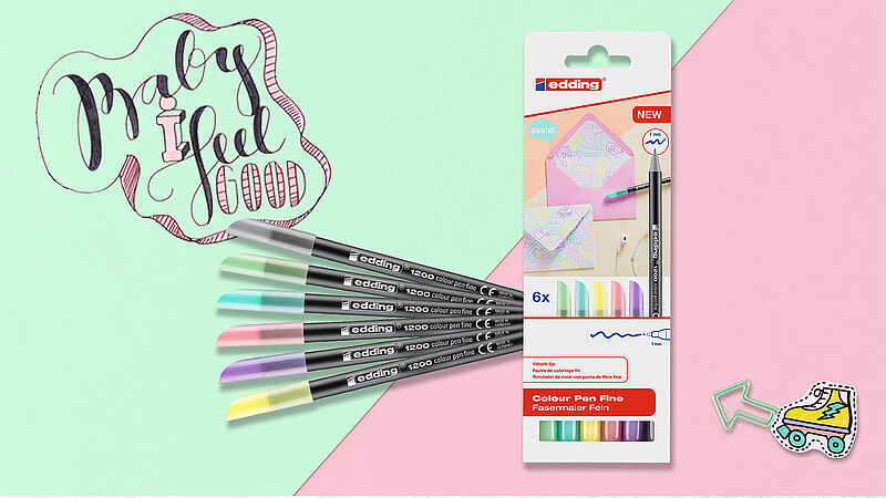 New pastel pens from edding