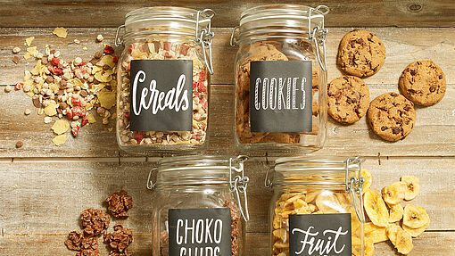 Jazz up your storage jars