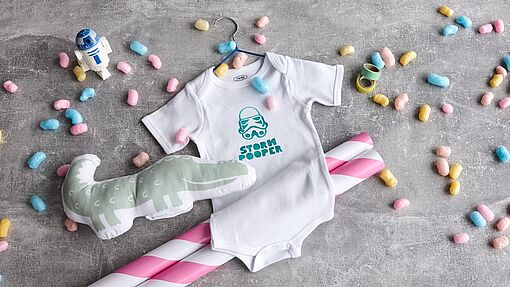 DIY funny baby grows
