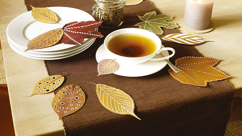 Make your own autumn decorations