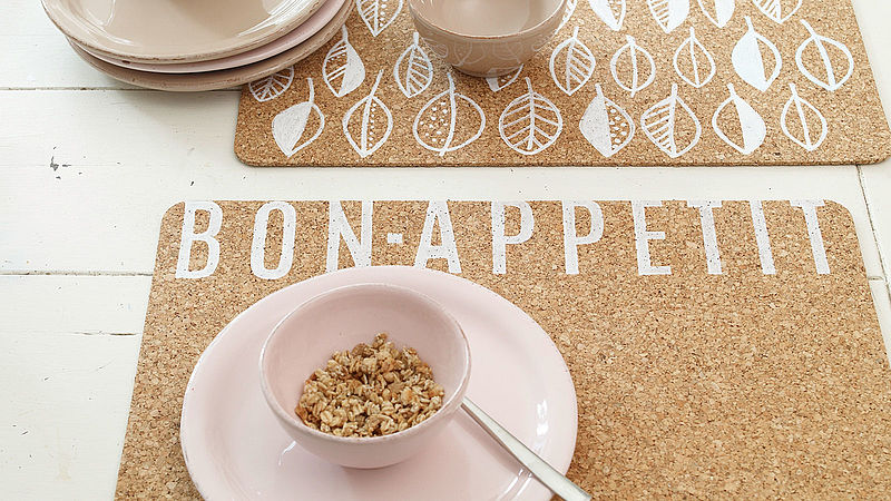 Bon appétit! Design your own table mats