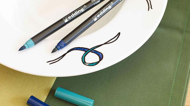 Zendoodle patterns – now even on porcelain! - Ideas - edding