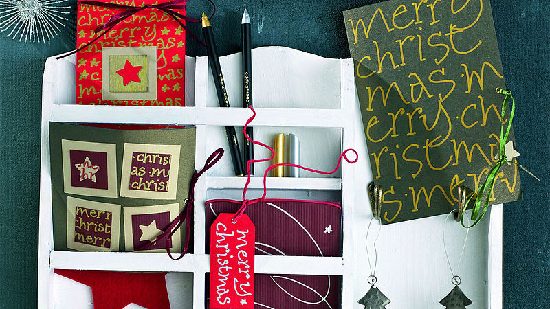 step 2 - Design Your Own Christmas Cards