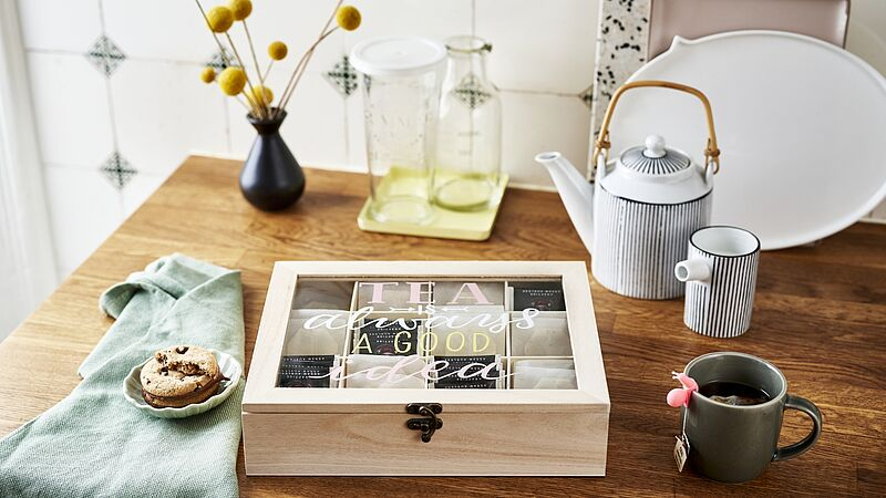 Decorate your tea bag box