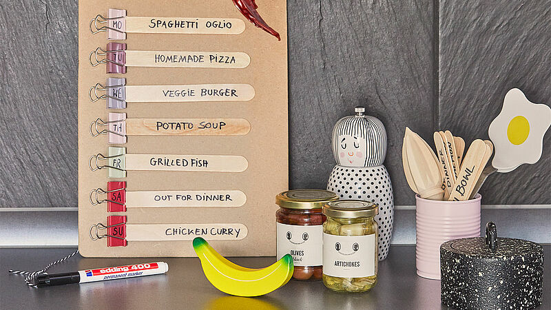 DIY reusable meal plan