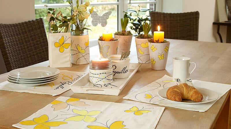 Centros de mesa primaverales
