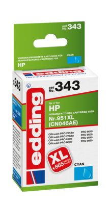 edding ink cartridge EDD-343