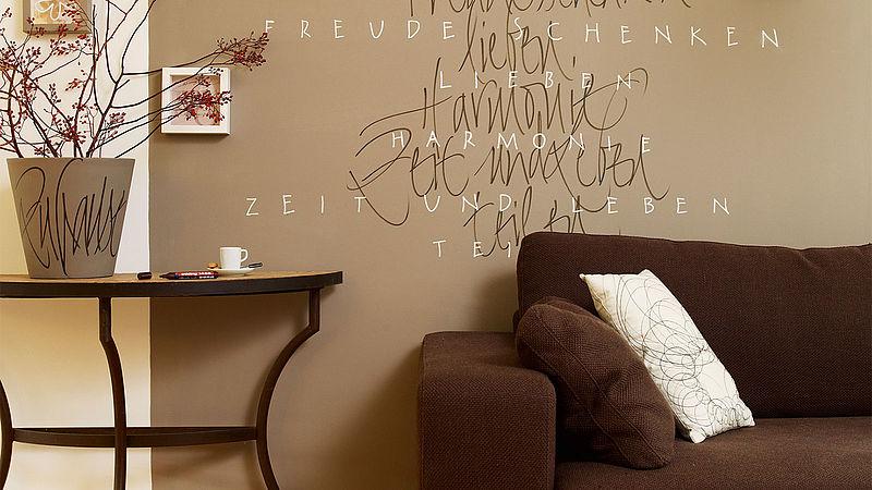 Living room wall decorations - Ideen - edding