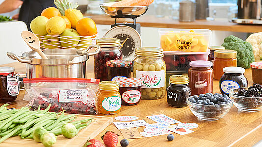 At harvest time, it's time to get preserving!
