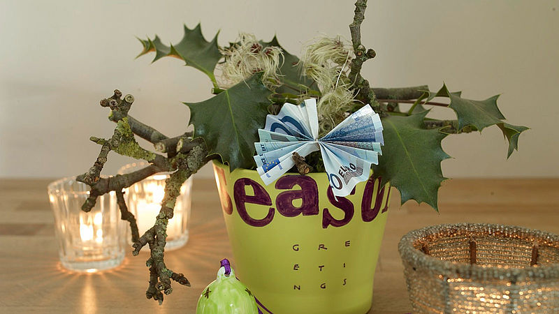 DIY money gifts