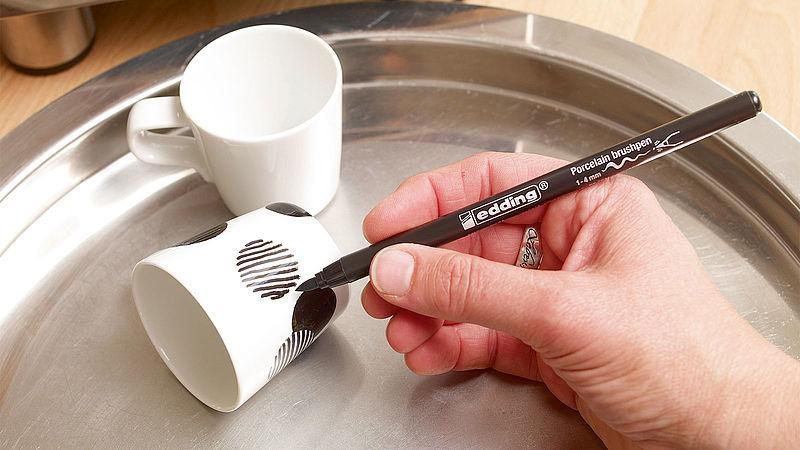 Espresso Fincanı Boyama Ideas Edding