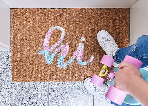 DIY door mat