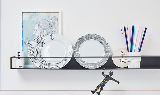 DIY painted plate