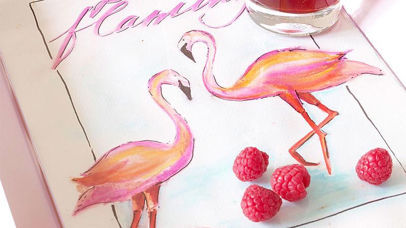 Flamingo Boyama Ideas Edding