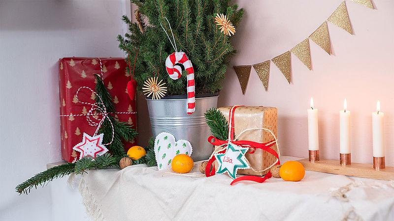 Kreative Bastelideen Rund Um Weihnachten Ideen Edding