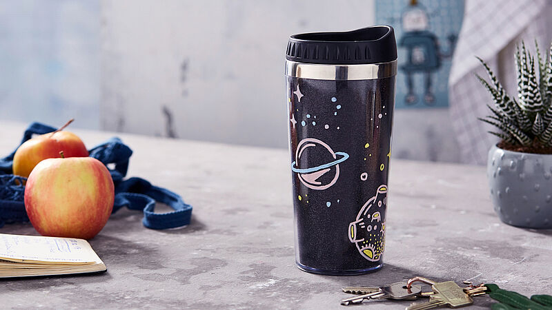 DIY galactic travel mugs