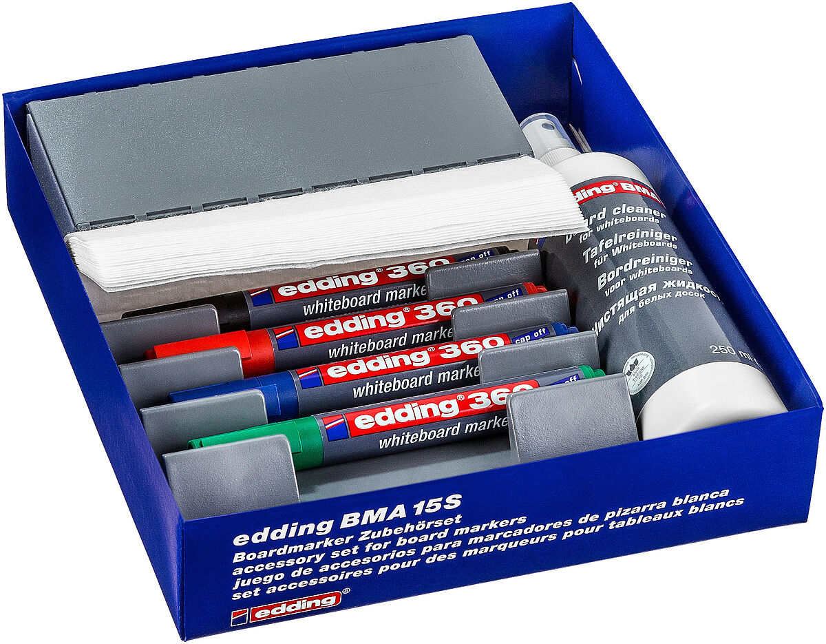 edding BMA 15 S accessory set for whiteboard markers