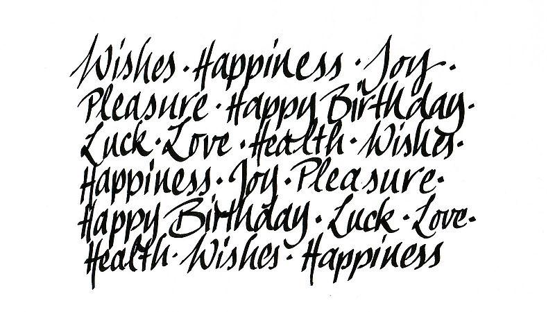 Kalligrafie Für Anfänger Edding