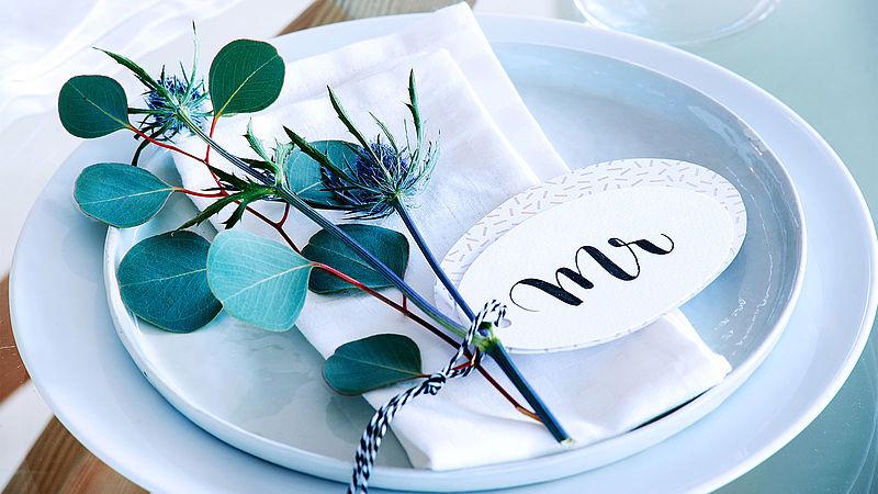 Super Zelf bruiloftsdecoraties maken - Ideeën - edding @SH44