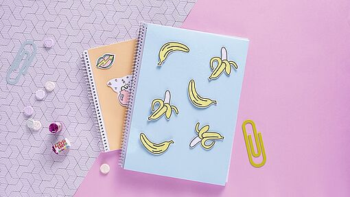 Decorate notebooks