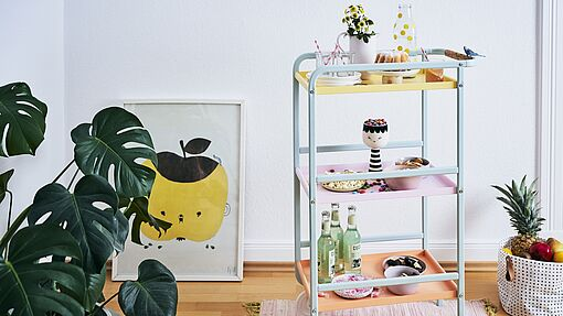 Kitchen trolley makeover