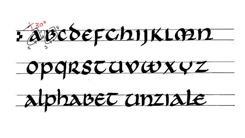 Yeni Başlayanlar Için Kaligrafi Edding
