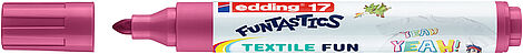 edding 17 FUNTASTICS TEXTILE FUN textile marker for children