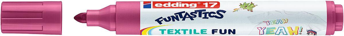 edding 17 FUNTASTICS pisak tekstylne dla dzieci