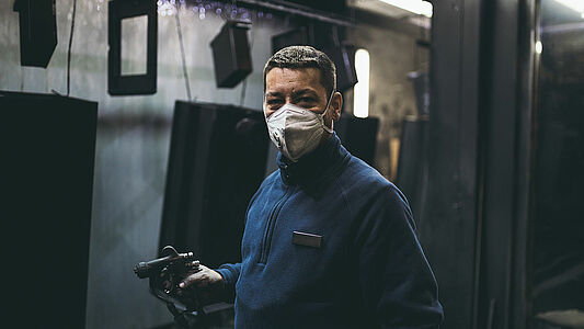 Information on industrial masks and tips for marking