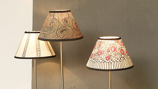 Design a lampshade