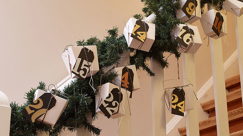 Creative advent calendar boxes