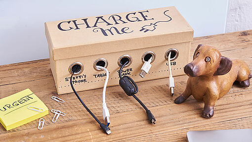 Station de recharge DIY