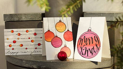 Draw your own Christmas cards
