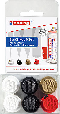 edding 5200 permanent spray sprayhead set
