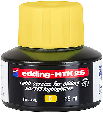 edding HTK 25 refill service highlighter