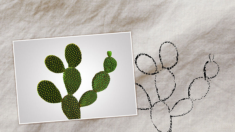 Generate your own cactus template