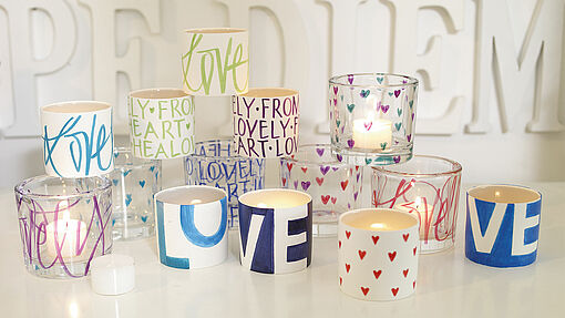 Lanterns – lovingly designed