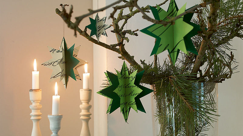 Create your own Christmas decorations