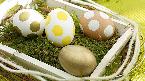 Decorating eggs – the easy way