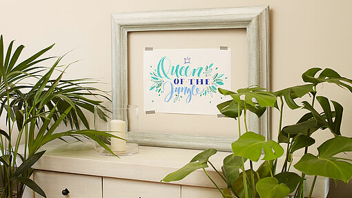 Handwritten lettering artwork