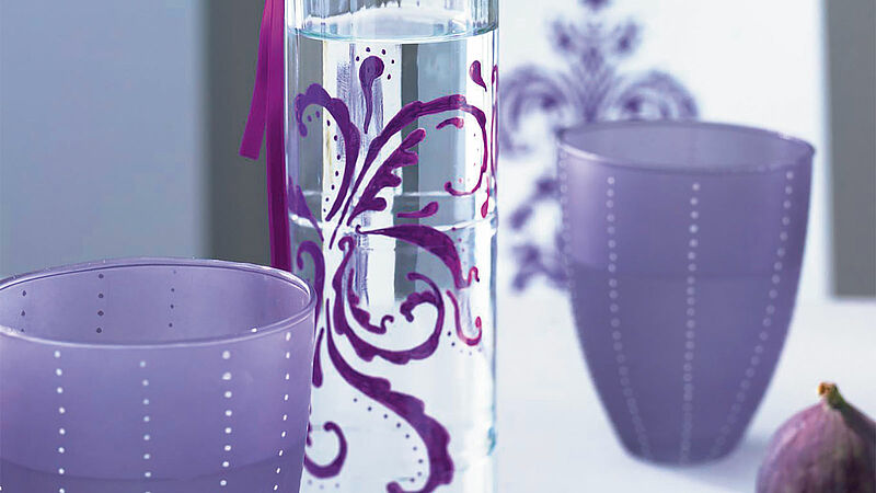 Glass Vases And Lanterns Painting Ideas Edding