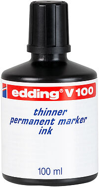 edding V 100 thinner permanent marker ink