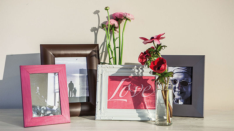 Picture perfect: eye-catching frames for treasured memories