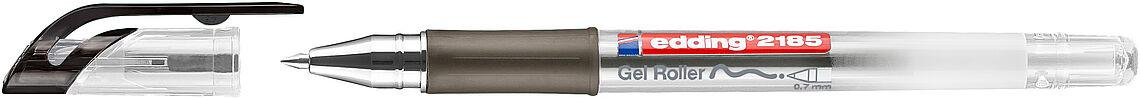 3 x Edding 2185 Crystaljelly Gelroller Gelminenschreiber Gelstift 0,7 mm rot