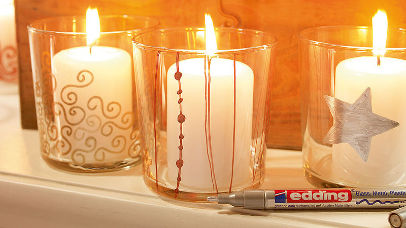 Design your own candle holders ideas edding for Create your own candle holder